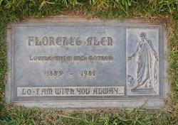 Florence <I>Monkman</I> Alen