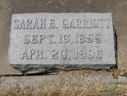 Sarah Elizabeth <I>Crowell</I> Garriott