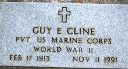 Pvt Guy Eugene Cline