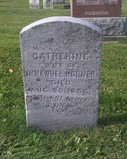 Catherine <I>Fisher</I> Horner