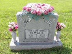 Judy Lane <I>Walker</I> Claywell