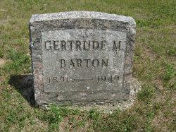 Gertrude M. Barton