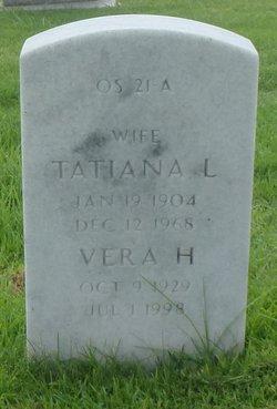 Tatiana <I>Larianoff</I> Geer