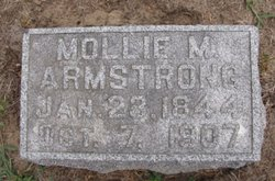 """Mary Margaret """"Mollie"""" <I>Stout</I> Armstrong"""