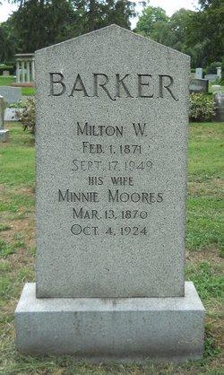 Minnie <I>Moores</I> Barker