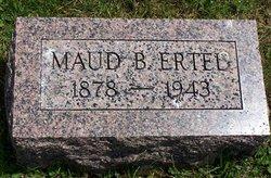 Maude Belle <I>Snider</I> Ertel