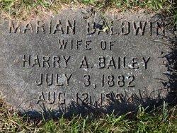 Marian <I>Baldwin</I> Bailey