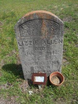 Lizzie <I>Gant</I> Allen