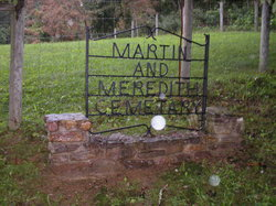 Martin and Meredith Cemetery