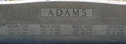 Billy Dale Adams
