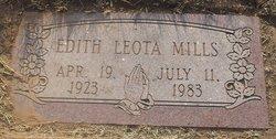 Edith Leota <I>Brian</I> Mills