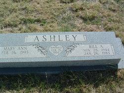 "Billy Avoral ""Bill"" Ashley"
