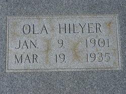 "Viola Mae ""Ola"" <I>Plier</I> Hilyer"
