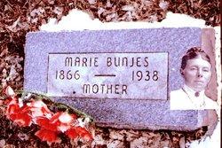 Marie Auguste Gerhardine <I>Wubbenhorst</I> Bunjes