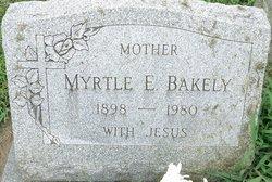 Myrtle E <I>Shinn</I> Bakely