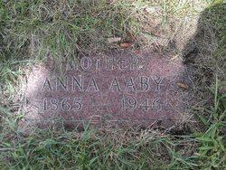 Anna Sampsonsdatter <I>Berge</I> Aaby