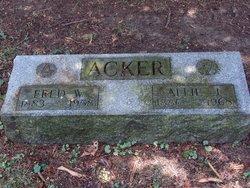 Allie J <I>Councilman</I> Acker
