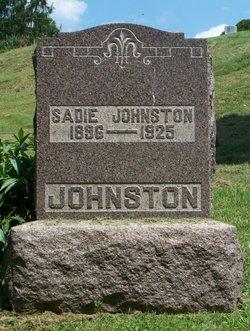 Sadie M <I>Hutson</I> Johnston