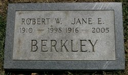 Jane E. <I>Hunt</I> Berkley