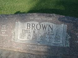 Ethel M Brown