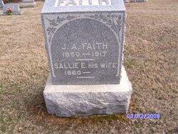 """Sarah E. """"Sallie"""" <I>Igleheart</I> Faith"""