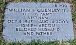 Lieut William Francis Guenley, III