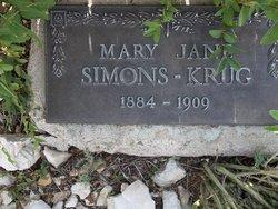 Mary Jane Ridington <I>Bottrall</I> Symons
