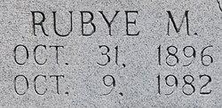 Rubye M. <I>Jamieson</I> Morgan