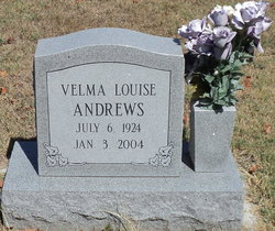 Velma Louise <I>Baird</I> Andrews