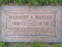Harriet Almeda <I>Miller</I> Bausch