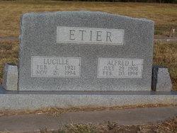 Lucille <I>Kitchens</I> Etier