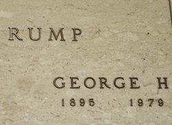 George Henry Rump