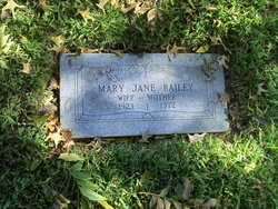 Mary Jane <I>Martin</I> Bailey