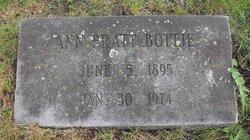 Ann <I>Pratt</I> Bottje