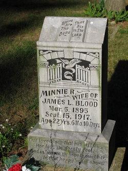 Minnie G. <I>Roneson</I> Blood