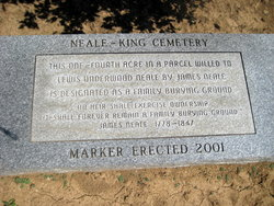 Neale - King Cemetery