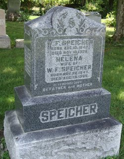"""Wilhelm Fridolin """"William"""" Speicher"""