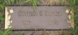 Cynthia Sue Brown