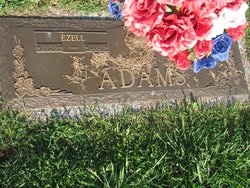 """Ezell """"Pop"""" Adams"""