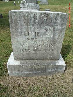Effie E <I>Muthersbaugh</I> Grafius