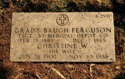 Christine <I>Werdell</I> Ferguson