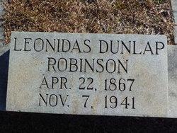 Leonidas Dunlap Robinson