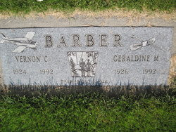 Vernon Carothers Barber