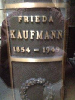 Frieda <I>Neuberger</I> Kaufmann