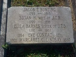 Eliza <I>Bunting</I> Barnes