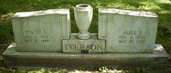 Walter N Iverson