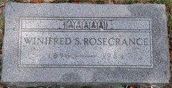 Winifred L <I>Smith</I> Rosecrance