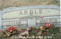 "Jacob Clair ""Clair"" Arble"