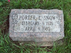 Porter Lawrence Snow