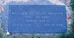 William Dickson Weaver